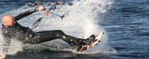 Czas nad morze - Kitesurfing