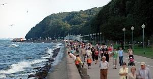 Czas nad morze - Bulwar Nadmorski Gdynia