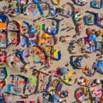 Plaża z lotu ptaka - Kacper Kowalski