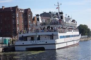 Czas nad morze - Tramwaj wodny Gdańsk