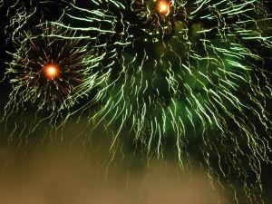 Ustka pokazy fajerwerków