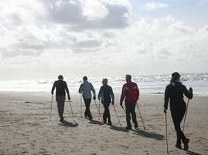 Czas nad morze - Nordic Walking