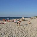 Jaś Fasola na plaży