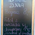 Lista cen jedzonko nad morzem