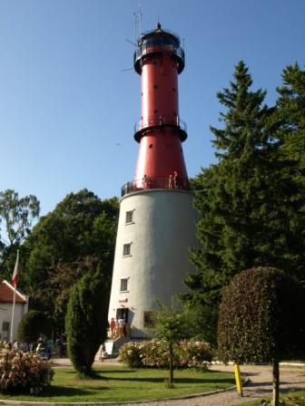 Szlak latarni morskich nad baltykiem
