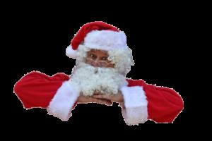 Mikołaj na plaży Czas na Bałtyk