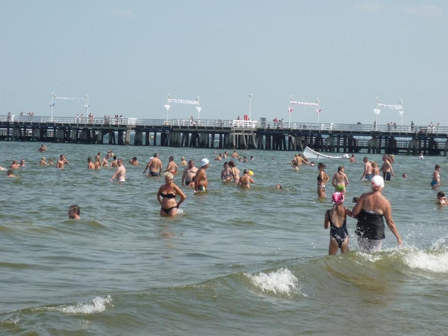 Czas nad morze - pogoda na sierpień 2011