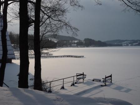 styczeń luty pogoda 2013 na zimę