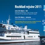 Gdynia Hel 2011 rozkład Tramwaj wodny