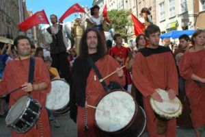 Gdańsk Parada Otwarcia Jarmarku Dominikańskiego