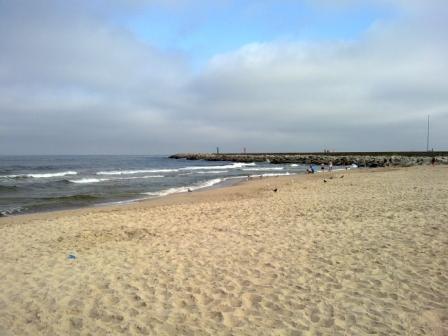 Darłowo plaża Darłówko