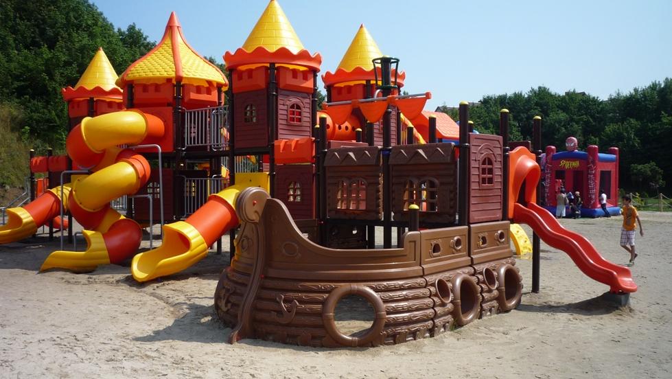 Plac zabaw Ocean Park Władysławowo