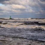 Prawdziwy Bałtyk...Prawdziwy jesienny sztorm...