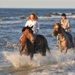 Ustronie Morskie - konno po plaży