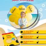 Atrakcje na plaży dla dzieci-miasteczka zabawy