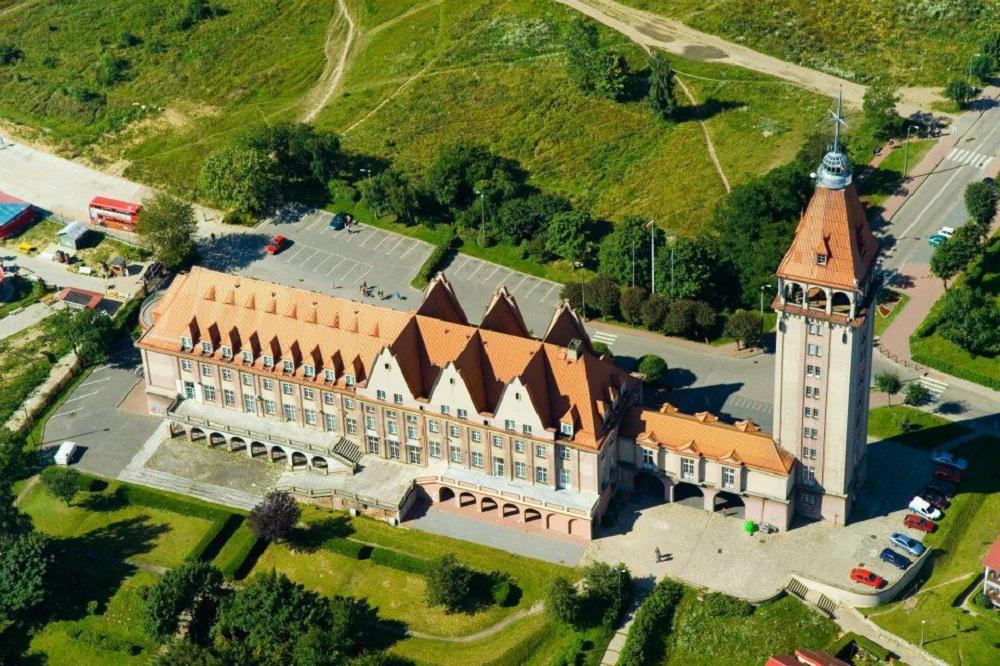 Dom Rybaka Władysławowo tarasy widokowe