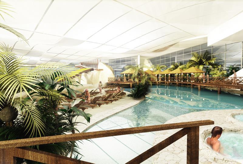 Sztuczna plaża, świat saun itp. to znajdziesz w Aquaparku w Redzie-sprawdź cennik opinie  i godziny otwarcia