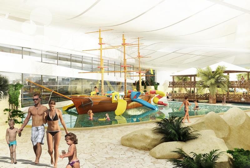 Atrakcje dla dzieci i basen dla niemowląt - Aquapark Reda Aquasfera