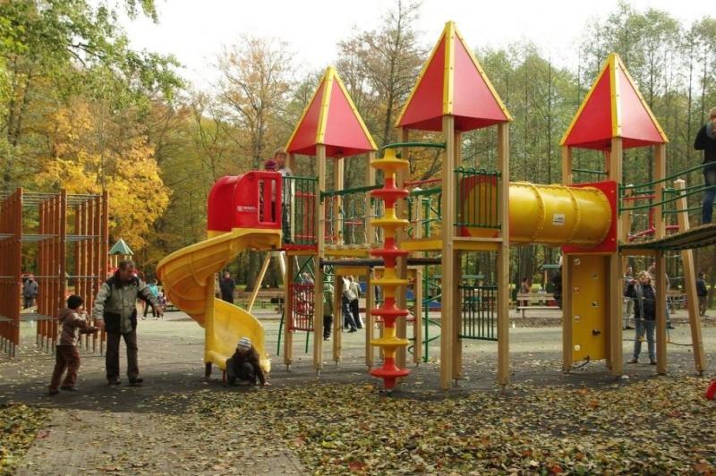Plac zabaw dla dzieci w Parku w Wejherowie
