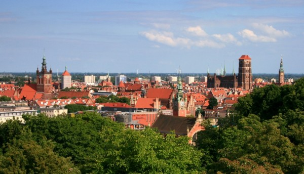 punk widokowy gdańsk panorama miasta
