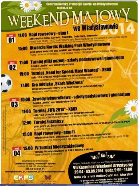 Imprezy Władysławowo Majówka 2014