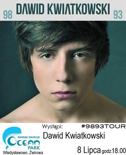 Dawid Kwiatkowski - Koncert lipiec 2014- Władysławowo