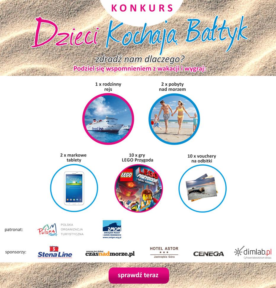 Wakacje z dzieckiem nad morzem-Konkurs