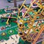Diabelski młyn i olbrzymi Lunapark z klocków LEGO- Wystawa Morze Klocków