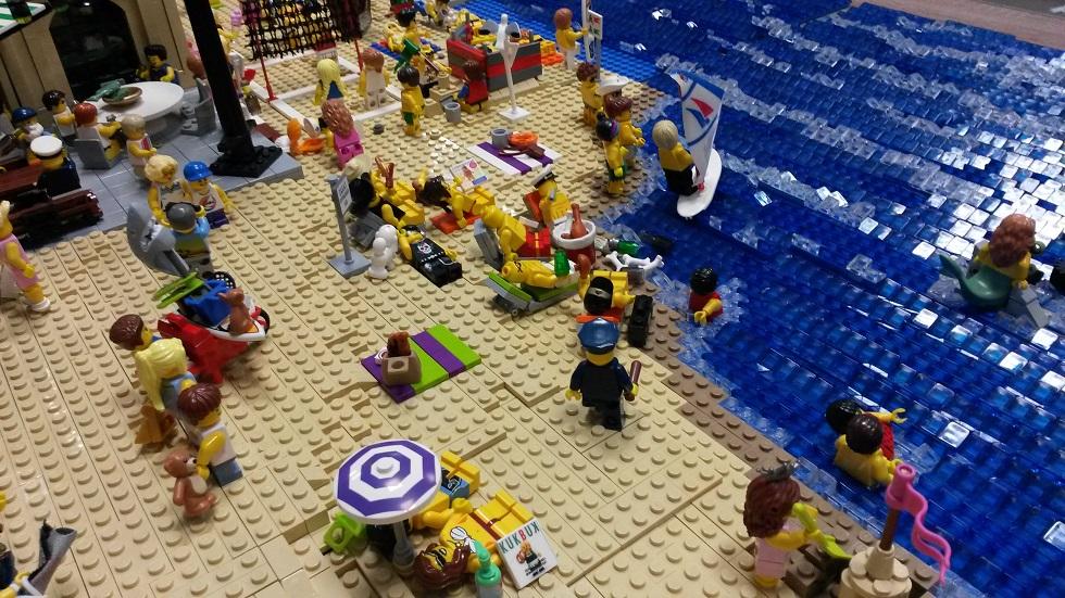 Wystawa Klocków Lego Swarzewo 2014-opinie-galeria zdjęć