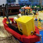 Statek, rybacy, sprawdź dokładnie co jeszcze znajdziesz na wystawie Morze Klocków