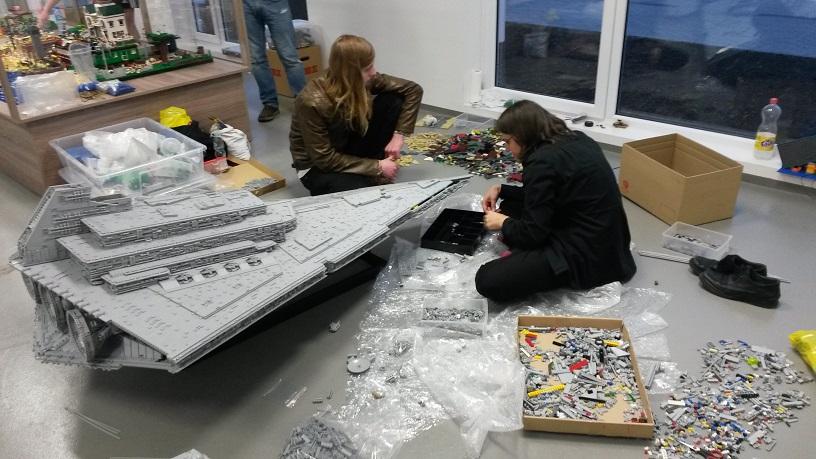 Star Wars - Wystawa Budowli z klocków Lego-Swarzewo Władysławowo 2014