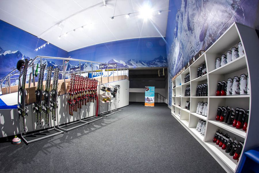 kryty stok narciarski Skimondo Trójmiasto
