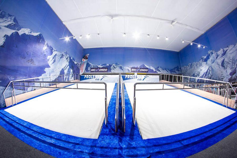 sztuczny stok narciarski Trójmiasto