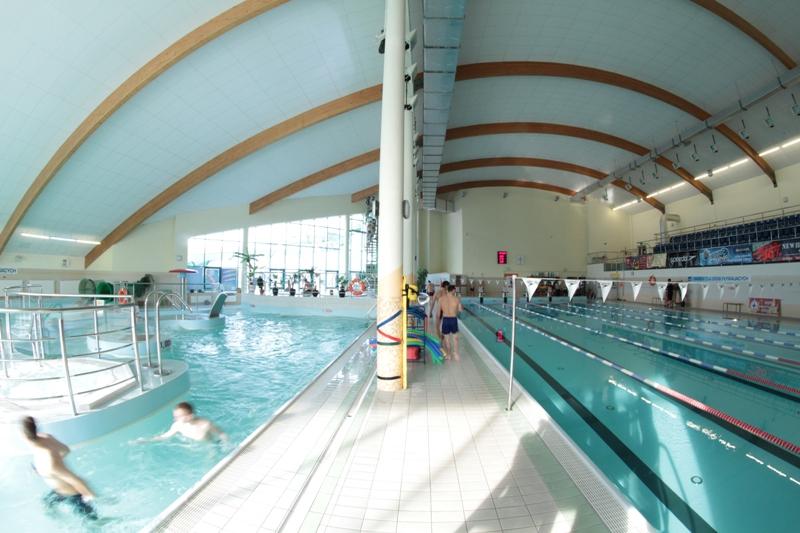 basen aquapark w Kołobrzegu atrakcje
