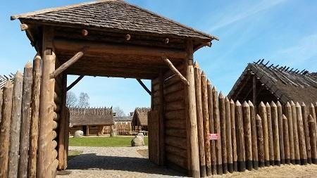 Sławutowo Osada Średniowieczna