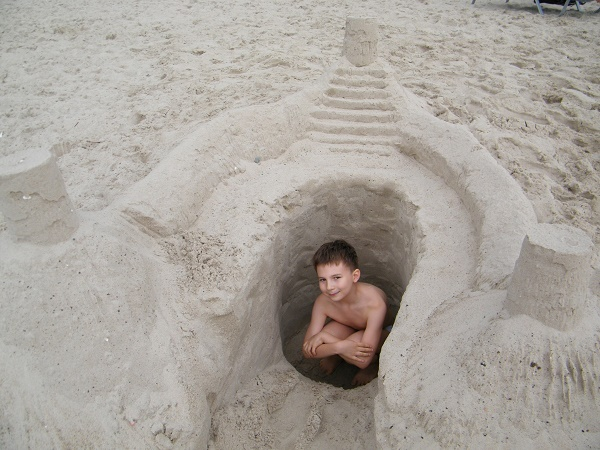 Bałtyk wakacje plaża 140-moja-nadbałtycka-twierdza-Ustka-rodzinne-wakacje