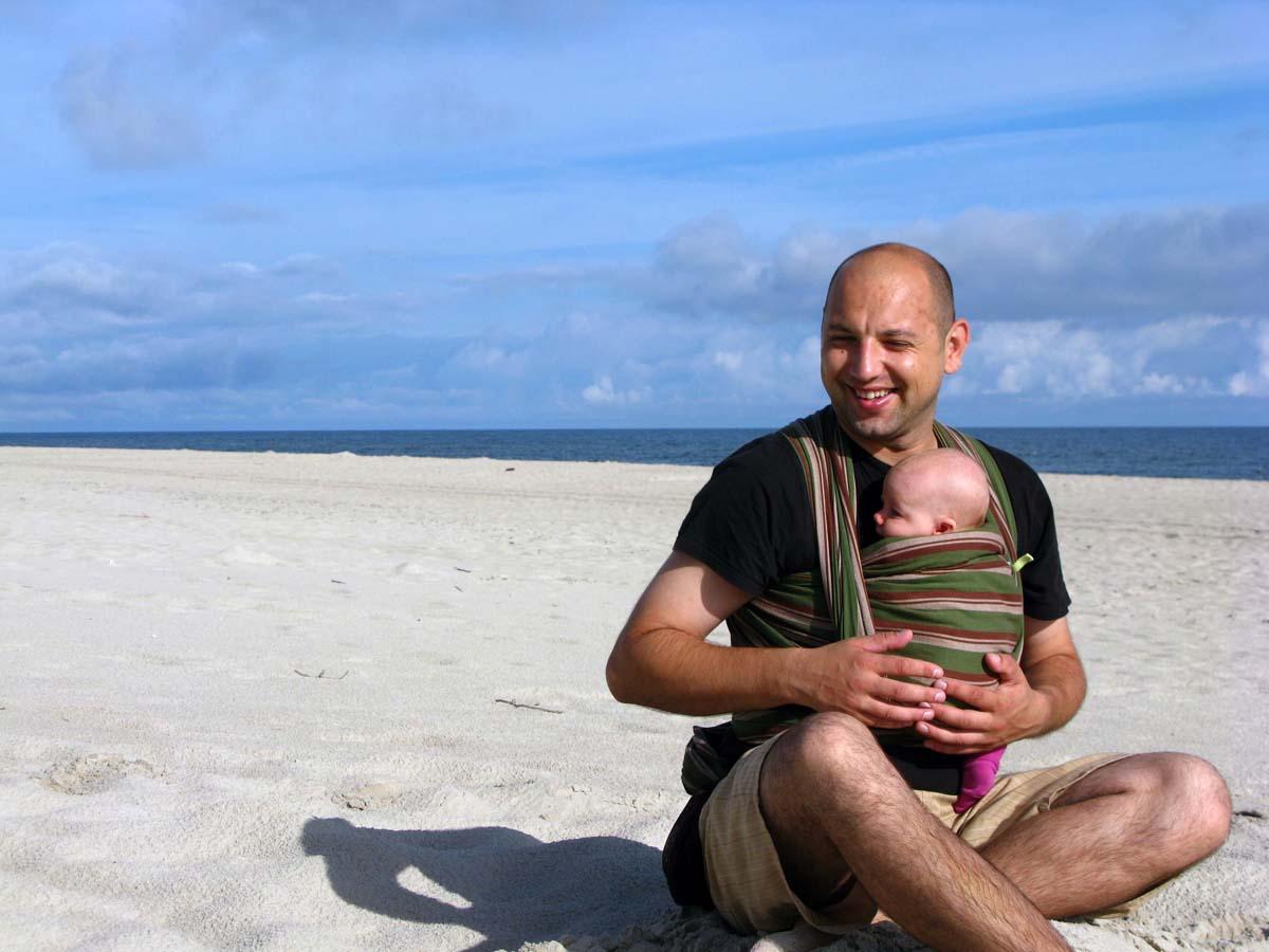 Bałtyk www.czasnadmorze.pl a z malym dzieckiem to zupełna lipa 323-wakacje-Kuźnica-dzieci-kochają-Bałtyk