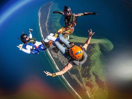 skycamp.pl -półwysep helski skoki spadochronowe