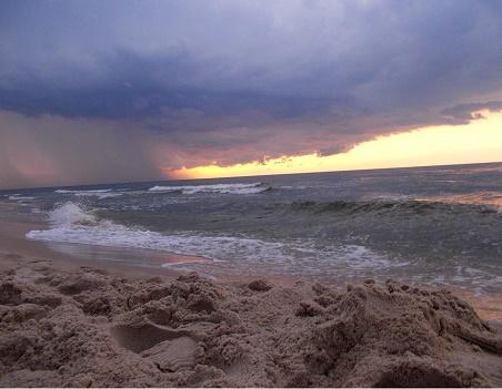 www.czasnadmorze.pl Bałtyk 242-burzowy-klimat-Stegna-plaża-wczasy