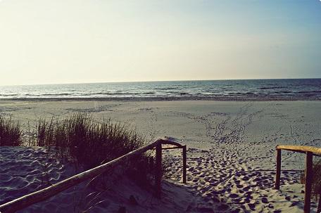 spokojne i ciche miejsce nad Bałtykiem
