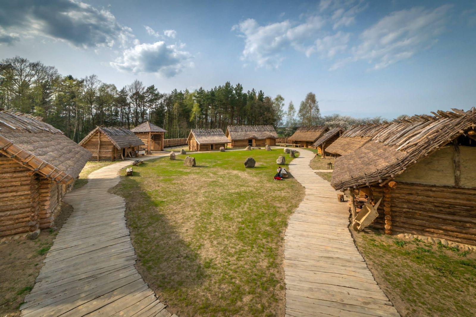 średniowieczna osada Sławutowo