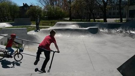 skate park Władysławowo dla dzieci