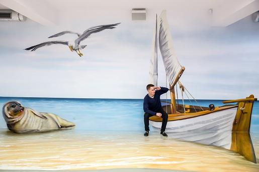 Muzeum Kocham Bałtyk Swarzewo Wystawy