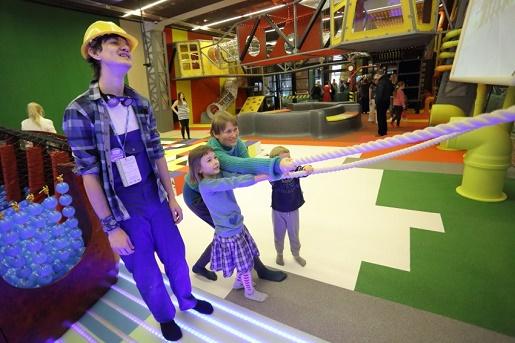 Wydział zabaw ECS atrakcje dla dzieci Gdańsk