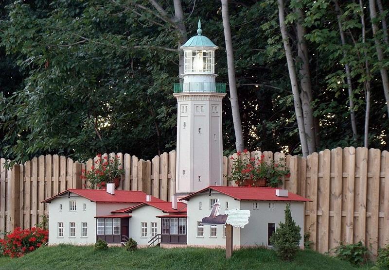 park miniatur niechorze atrakcje co zwiedzic