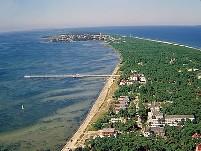 jurata czas nad morze plaża hel