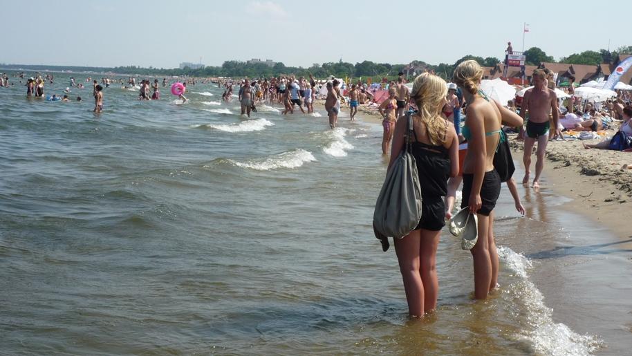 Czas nad morze - Wakacje 2011