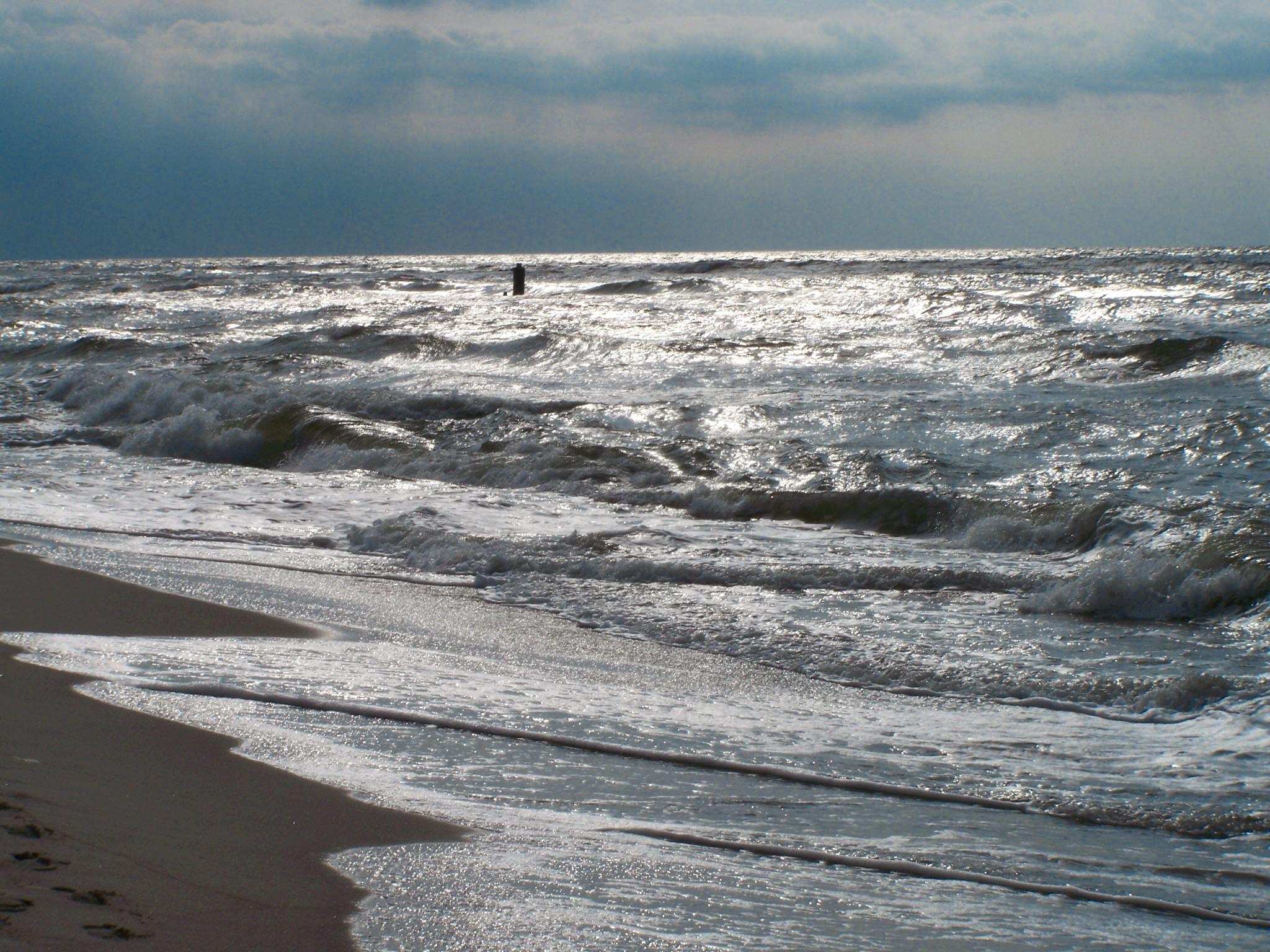 Czas nad morze - Sztorm na Bałtyku